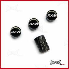 MAZDA RX8 - Set Of 4 Lasered Logo Aluminium Tire Valve Caps