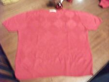Ladies Twinset - Red Cardigan and sweater - Size UK 14