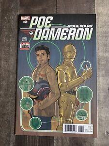 Star Wars Poe Dameron #9 Marvel Comic 1st Print 2016