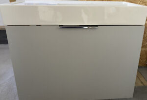 Kartell LAUFEN Sink With Vanity Unit - Grey - Ex-Display
