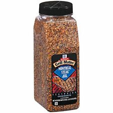 LARGE McCormick Grill Mates Montreal Steak Seasoning ALMOST 2 LB