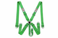 STR 5 Punto Racing Safety Harness Cintura di sicurezza degli aeromobili SFI CAM LOCK RELEASE VERDE