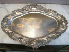Gorham Sterling Silver Chantilly Grand Serving Tray Tea Set Platter 1034 Grams