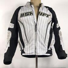 Shift Mens Jacket Avenger Padded Motorcycle Protective Armor Black White Size M