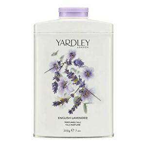 Yardley London English Lavender Fragrance Perfumed Talc - 200g