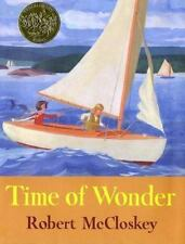 1985 Time of Wonder Robert McCloskey Maine Picture Book HC DJ VGC Ages 4 7