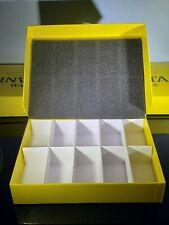 Invicta Watch Cardboard / Plastic Stoage Box 10 Slots