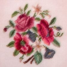 EP 2783/5 Madeira Floral Bouquet Preworked Needlepoint Canvas