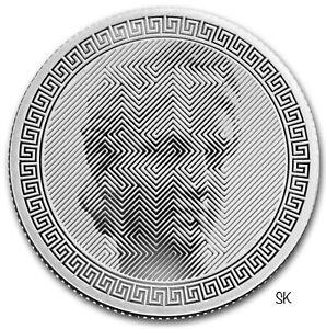 2020 Tokelau ICON 1 oz Silver Coin
