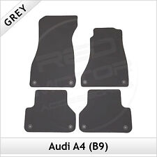 Audi A4 Saloon B9 2015 onwards Tailored Fitted Carpet Car Floor Mats GREY