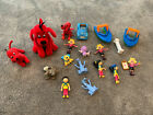 Clifford The Big Red Toys Plush Mcdonalds Figures Bundle