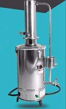 5L/H Auto Electrical Electrothermal Stainless Water Distiller Distilled PurifieY