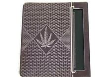 Tobacco ROLLING MACHINE, Canabis Leaf design... holder roller cigarete cigerette