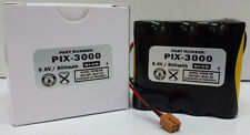 AMANO PIX-3000 PIX-3000X REPLACEMENT BATTERY