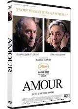 DVD *** AMOUR *** de Michael Haneke avec Jean Louis Trintignant ( neuf emballé )
