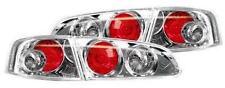 SEAT IBIZA 3 03- CHROME LEXUS REAR TAIL LIGHTS (PAIR)