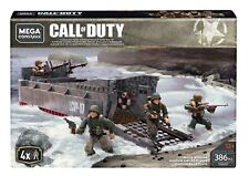 EXTREMELY RARE!!! Mega Construx Call Of Duty WWII Beach Invasion