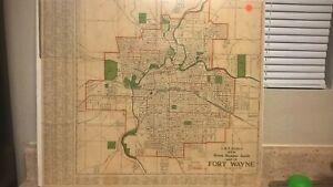 Fort Wayne (Indiana) 1922 map
