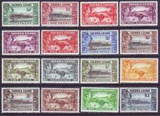 Sierra Leone 1938 SC 173-185 MH Set