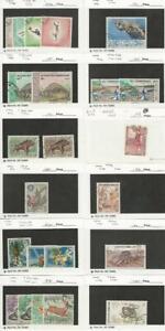 Laos, Postage Stamp, #178//250 Used, 1968-74, JFZ