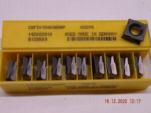 x10 Kennametal C8FIX150608RRP KCU10 Carbide inserts Fix Perfect carbide 8 sided