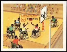 "BARBUDA 526 (SG607) - Intl. Year of the Disabled ""Basketball"" (pa54321)"