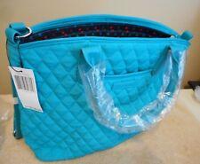 Vera Bradley Casual Satchel Crossbody similar/day off satchel Blue NWT $138