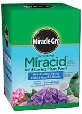 (4) MIRACLE GRO 4LB 30-10-10 MIRACID WATER SOLUBLE ACID LOVING FERTILIZER 142005