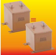 20uF 400V STRONG MATCHED RUSSIAN PAPER IN OIL PIO AUDIO CAPACITORS MBGO МБГО-2