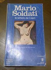 """Libri/Riviste/Giornali """" LE LETTERE DA CAPRI """" Soldati/Mondadori"""