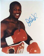 Douglas James Buster World Heavyweight Champion 1990 autographié de boxe photo