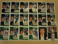 1991-92 Pinnacle French SAN JOSE SHARKS Team Set - 18 Cards - Includes 4 Rookies