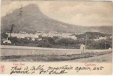 Orange River Colony: EDVII Postcard, 'Camp St, Cape Town': Bloemfontein, 1904
