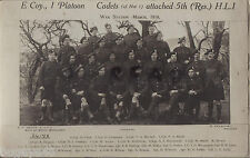 WW1 soldier Argyll & Sutherland Highlanders 2 /5th HLI Highland Fanteria Leggera