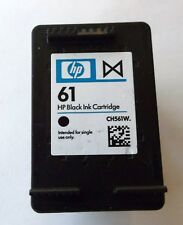 Empty HP 61 Black Ink Cartridge x1 CH561W NEVER REFILLED 1 PIECE