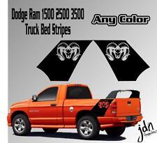 Dodge Ram Truck Bed Daytona Style Vinyl Decal Sticker 1500 2500 3500 All Years