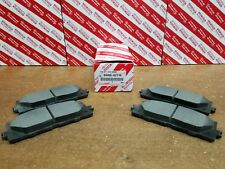 Toyota Camry 2007-2011 Front & Rear OEM Ceramic Brake Pads w/o Shims