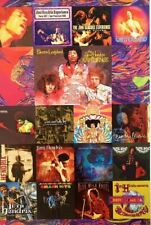 The Jimi Hendrix Experience Albums Collage Poster 24 x 36