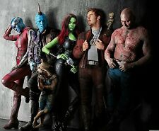 """MARVEL GUARDIANS OF THE GALAXY SUPERHEROES WALL ART CANVAS PICTURE PRINT 20X30"""""""
