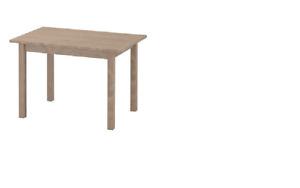 New* SUNDVIK Children's table Grey-brown  76x50 cm - IKEA *Brand