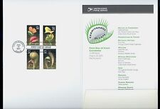 USA #3528-31 2001 34c Carnivorous Plants Stamps First Day Ceremony Program