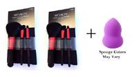 Revlon Starter Brush Kit, Premium (2 Pack) + Makeup Sponge