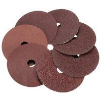 50pcs Fibre Sanding Grinding Discs Wheels 24-120Grit For Angle Grinder  Gift ❤