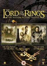THE LORD OF THE RINGS - COMPLETE TRILOGY- 6 DISC SET NEW / SEALED DVD