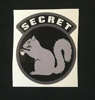 SECRET SQUIRREL SWAT TACTICAL EMS EMT MORALE CAR VEHICLE WINDOW DECAL STICKER