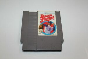 Nintendo Bases Loaded Video Game by JALECO NES 1985