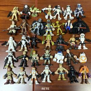 5PCS Playskool  Galactic Heroes Clone Wars Trooper Vaeder Figure Random