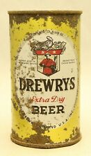 Drewry's Flat Top Beer Can