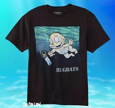 95a06aa58d42 New Nickelodeon Rugrats Nevermind Men s Vintage Retro T-Shirt