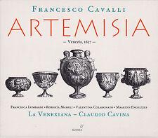 FRANCESCO CAVALLI: ARTEMISIA. La Venexiana, Claudio Cavina, 3 CDs, wie neu